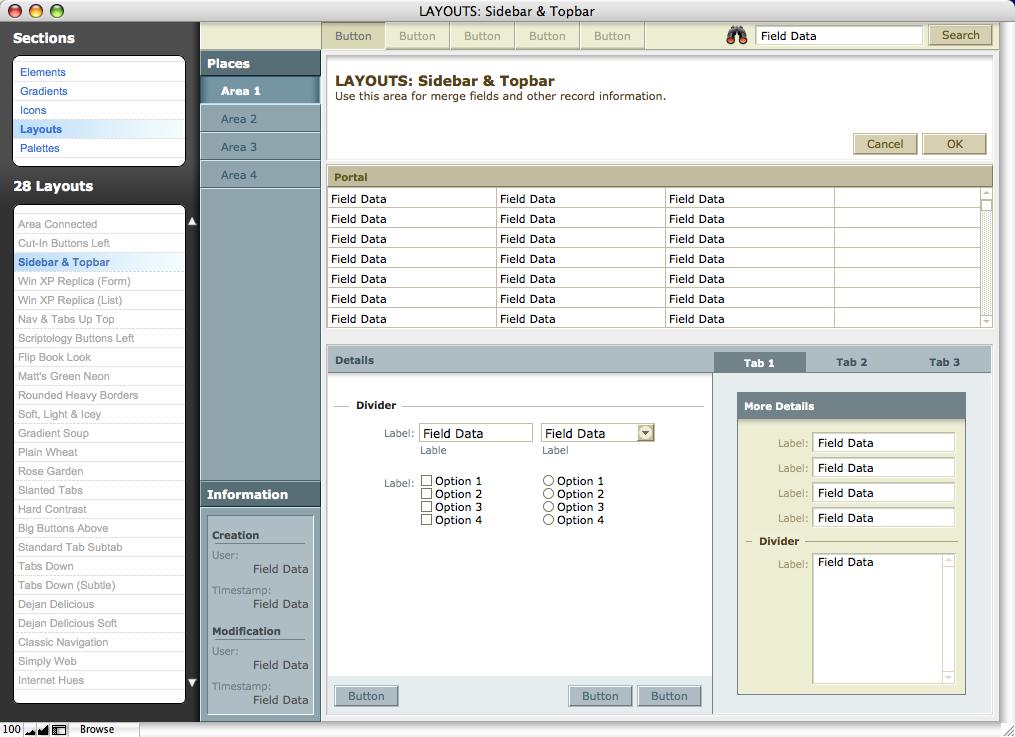 FileMaker Templates, Resources & Tools | Scriptology com